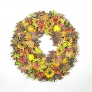 Autumn in New England Wreath