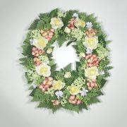 Ferns & Flowers Wreath