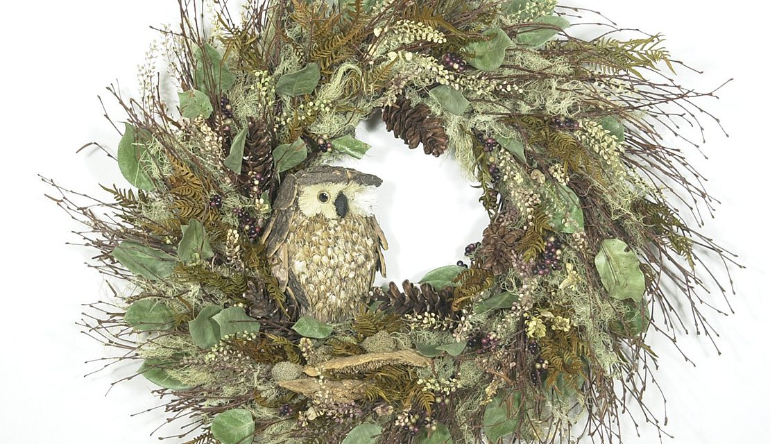 Forest Friends Wreath