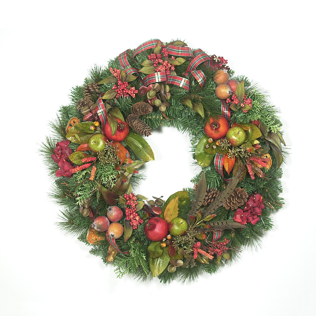 Colonial Christmas Wreath Wreaths Unlimited