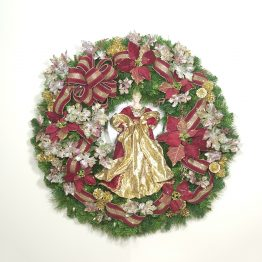 Holiday Elegance Wreath