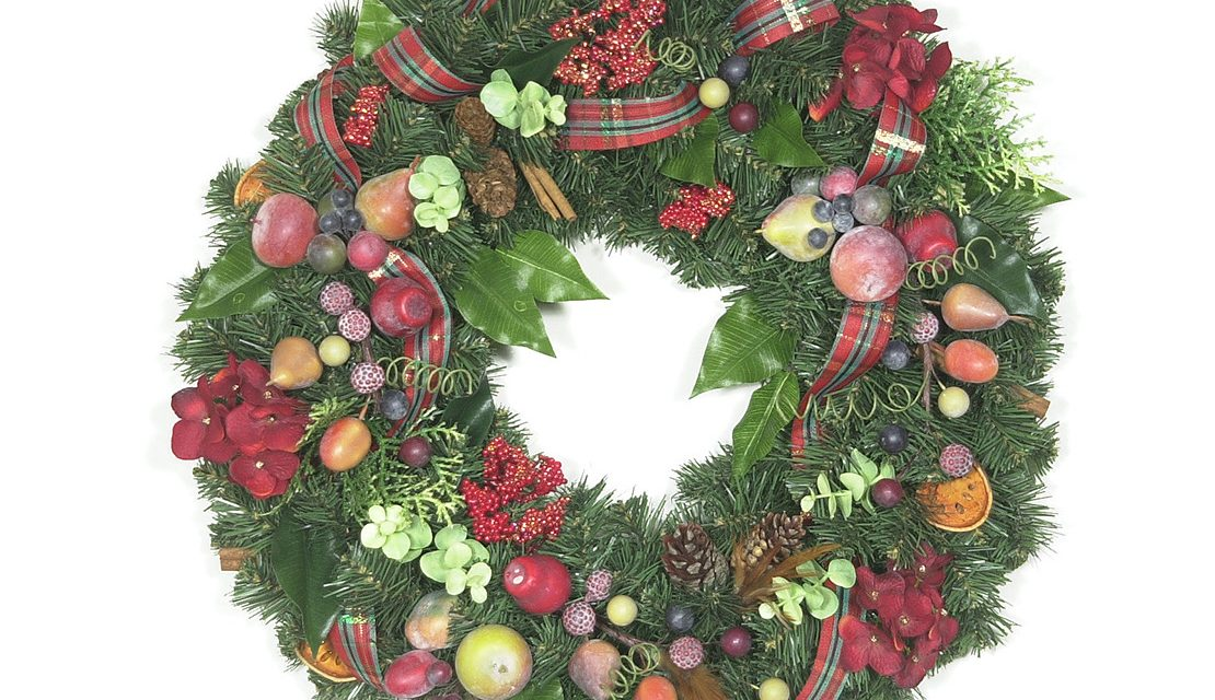 Fruits of the Holiday Wreath