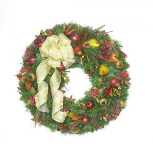 An Old-Fashioned Christmas Wreath