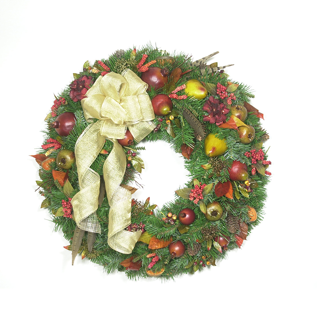 An Old-Fashioned Christmas Wreath - Wreaths Unlimited
