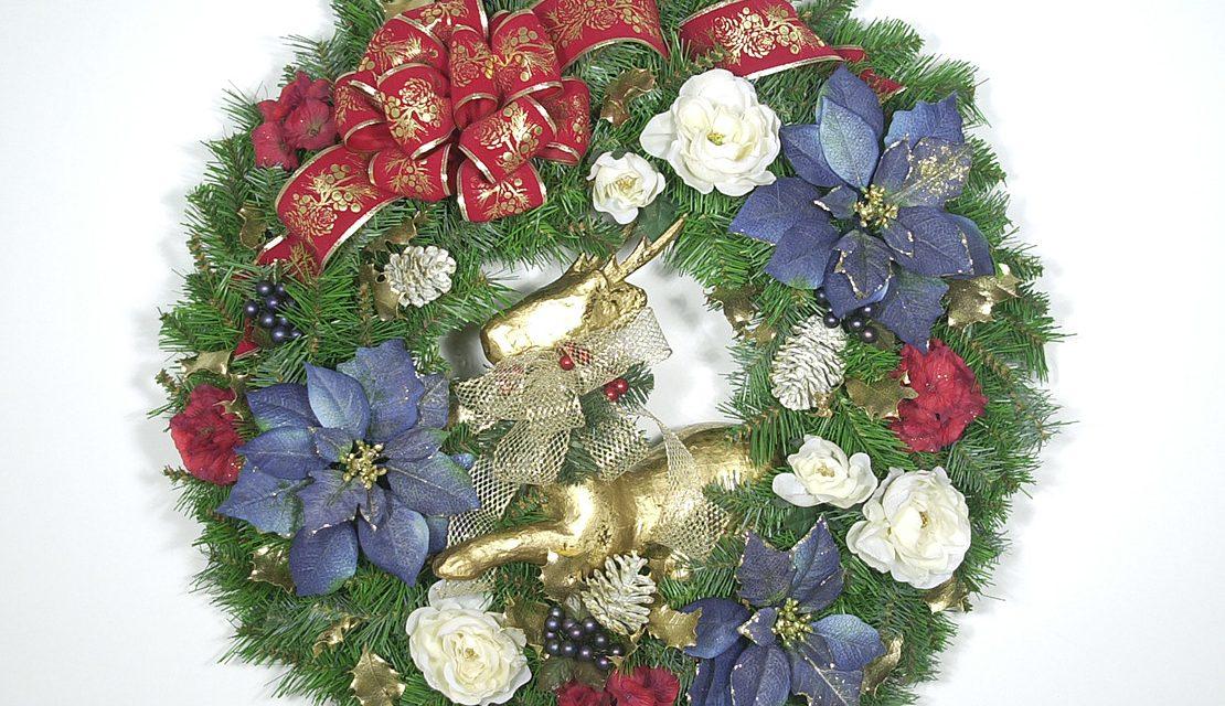 Americana Christmas Wreath