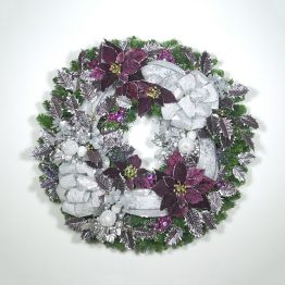 Christmas in the City Wreath