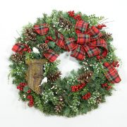 North Country Retreat Wreath