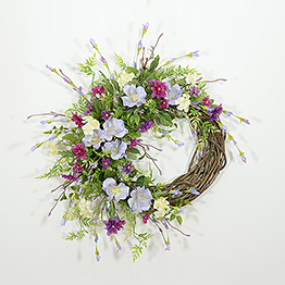 Cabin Fever Spring Wreath