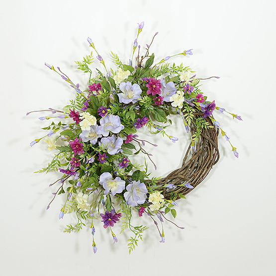 Cabin Fever Spring Wreath