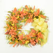 Sizzling Colors Summer Wreath