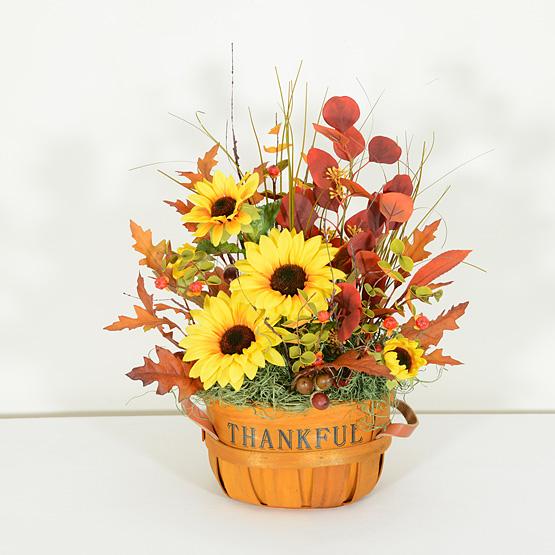 Thankful Autumn Harvest Arrangement
