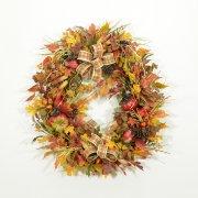 Mother Nature's Autumn Playground Wreath