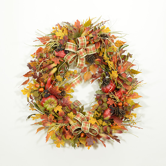 Mother Nature's Autumn Playground Wreath