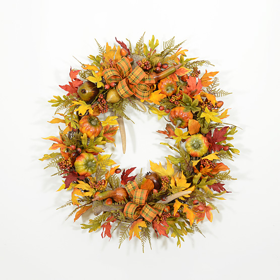 Nature's Blessings Autumn Wreath