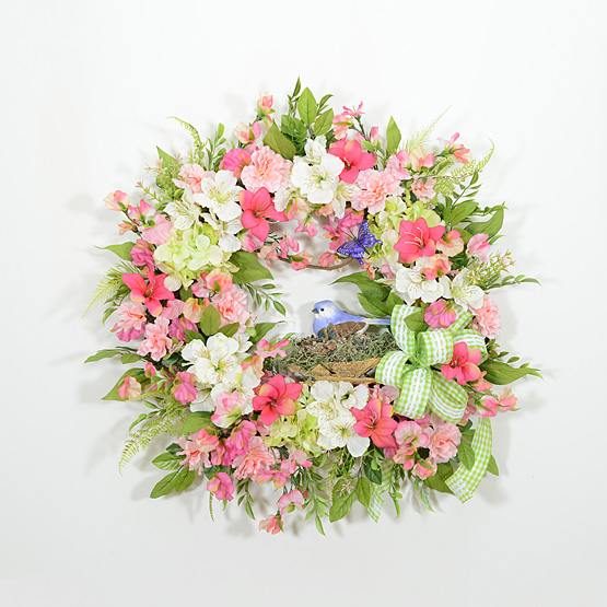 Meadow Song Spring Wreath