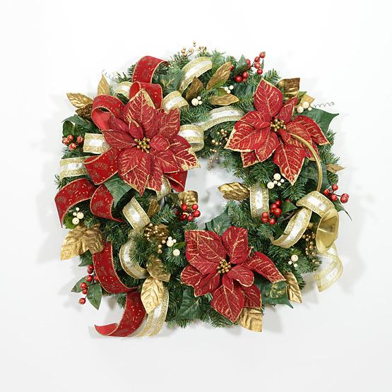 Classic Renaissance Christmas Wreath