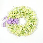 Mint Julep Tulip Wreath