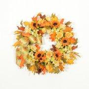 Brilliant Colors of Autumn Wreath