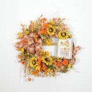 Country Welcome Autumn Wreath