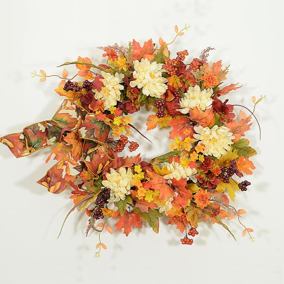 Celebrating the Magic of Autumn Wreath
