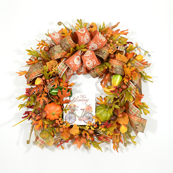 Blessings of Autumn Wreath